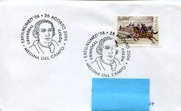 25132 Spain, Special Postmark Medina Del Campo,2006,  Showing  Colon,  Coulomb  Columbus - Cristoforo Colombo