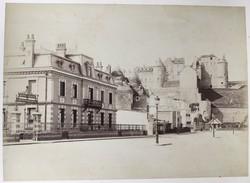 Lot De 3 Photos De Dieppe. Les Bains Chauds. 1880. - Photos