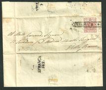 DA MANTOVA A VILLAFRANCA - 2.9.1850. - Lombardije-Venetië