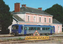 """Autorail X 2144 Du """"TER Bretagne"""", En Gare De Pontivy (56)  - - Stations With Trains"""