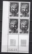 FRANCE  1980 - BLOC DE 4 TP Y.T. N° 2098 COIN DE FEUILLE - NEUFS** /B60 - France