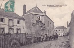 CPA 79 @ COULONGES THOUARSAIS @ Le Pensionnat Saint Joseph - Ecole Animée ! - Andere Gemeenten