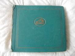 78T - Album La Voix De Son Maitre Avec 12 Disques - 78 Rpm - Gramophone Records