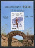 Korea 1994 Corea / IOC Centennial Olympics Committee MNH Centenario COI Olimpiadas / Cu4217  40-30 - Juegos Olímpicos