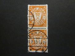 Danzig Nr. 193 D PAAR Gestempelt (C22) - Dantzig