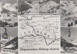 Autriche - St. Christoph Am Arlberg - Skiparadies -  Ski - 1957 - St. Anton Am Arlberg