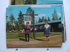 Finland Suomi Lappi Lapland Rovaniemi Traditional Clothes Napapiiri - Finland