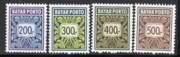 INDONESIE - 1983 - Timbres-Taxe N°79/82 ** - Indonésie