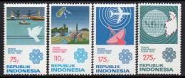 INDONESIE - 1983 - N°984/7 ** Communications - Indonésie
