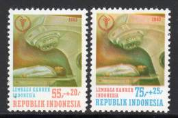 INDONESIE - 1983 - N°993/4 ** Lutte Contre Le Cancer - Indonésie