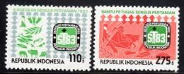INDONESIE - 1983 - N°995/6 ** Recensement Agricole - Indonésie
