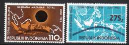 INDONESIE - 1983 - N°990/1 ** Eclipse Solaire - Indonésie