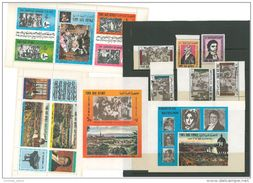 Yemen Arab Republic 1970 Mi 1406/1417 & Blocks 167/8 MNH 200th Anniv BEETHOVEN 1770-1970 - Music - Yemen