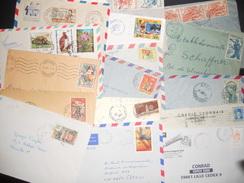 Afrique , Lot De 50 Lettres - Francobolli