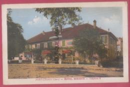 39 - PORT LESNEY----Hotel Bonjour-Téléphone 6---animé-----cpsm Pf Colorisée - Autres Communes