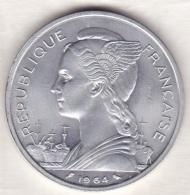 ARCHIPEL DES COMORES . REPUBIQUE FRANCAISE . 5 FRANCS 1964  ESSAI . ALUMINIUM - Comoros