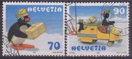 SUIZA 1999 Nº 1601/02 USADO - Suiza