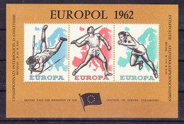 Belgie 1962 Europol Blok ** Mnh (36760) - Erinnophilie