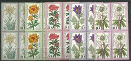 Bund 1975, 4x Nr. 867-70, 874,  Postfrisch - Unused Stamps