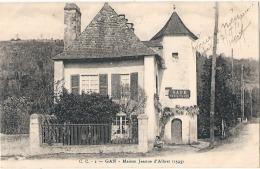 --- 64 ----  GAN Maison Jeanne D'Albret - écrite TTB - Altri Comuni