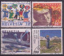 SUIZA 1999 Nº 1623/26 USADO - Suiza