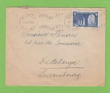 LETTRE DE NANCY  POUR DUDELANGE(LUXEMBOURG). - France
