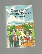 Tabac , Boite  D'ALLUMETTES, 2 Scans, TAVERNE DE MAITRE KANTER , Brasserie - Boites D'allumettes