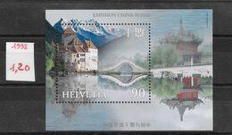 Architecture - Suisse BF N°28 Château Léman 1998 ** - Castelli