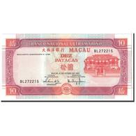 Macau, 10 Patacas, 2001, KM:77, NEUF - Macao