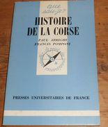 Corse. Histoire De La Corse. Paul Arrighi Et Francis Pomponi. 1978. - Corse