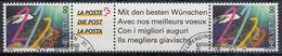 SUIZA 1999 Nº 1634 X 2 SERIES USADO CON VIÑETAS - Suiza
