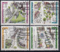 SUIZA 1999 Nº 1638/41 USADO - Suiza