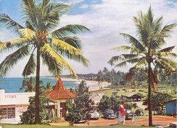 SRI LANKA / CEYLON - COLOUR PICTURE POST CARD - CEYLON PICTORIALS - MOUNT LAVINA BEACH RESORT - TRAVEL / TOURISM - Sri Lanka (Ceylon)