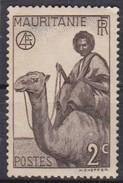 Mauritania, 1938/1940 - 2c Camel Rider - Nr.76 Usato° - Mauritania (1960-...)