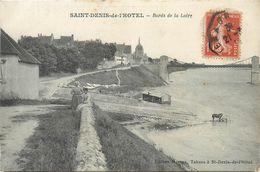 45 SAINT DENIS DE L ' HOTEL  Bords De Loire    2scans - Andere Gemeenten