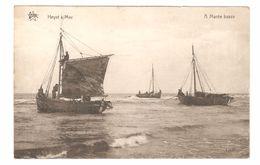 Heist / Heyst S/Mer - A Marée Basse - Barque à Voile / Zeilboot - Uitgave Star De Graeve Gand - 1923 - Heist