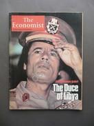The Economist 31 Gennaio - 6 Febbraio 1981 Muammar Gheddafi The Duce Of Libya - Libri, Riviste, Fumetti