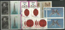 Bund 1977, 4x Nr. 936-42,  Postfrisch - Unused Stamps