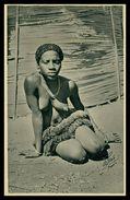 GUINÉ  -EXPOSIÇÕES - Bailarina Bijagoz ( Ed. 1ª Exposição Colonial Portugueza Nº 27/ Foto Alvão) Carte Postale - Guinea-Bissau