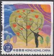 HONG KONG 2013 Art - $3.70 Man And Tree With Hearts FU - 1997-... Région Administrative Chinoise