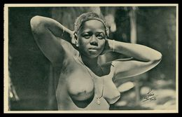 GUINÉ  -EXPOSIÇÕES - Rosinha O Sucesso Feminino ( Ed. 1ª Exposição Colonial Portugueza Nº 43/ Foto Alvão) Carte Postale - Guinea-Bissau