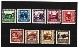MAG1082 AUSTRIA ÖSTERREICH 1923 Michl  433/41  ** Postfrisch Siehe ABBILDUNG - Ungebraucht