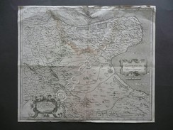 Carta Geografica Capitanata Olim Mesapiae Et Japigiae Pars Magini Puglia Gargano - Altri