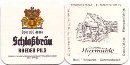 #D158-249 Viltje Schloßbräu Rheder - Bierviltjes