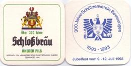 #D158-268 Viltje Schloßbräu Rheder - Sous-bocks