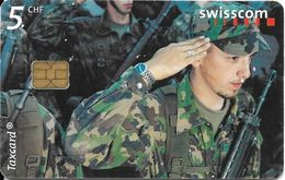 Swisscom: CP73 24 Momente Auf 24 Taxcards: 07.00 Kaserne, Herisau. S 3 - Suisse
