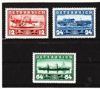 MAG1103 AUSTRIA ÖSTERREICH 1937 Michl  639/41  ** Postfrisch Siehe ABBILDUNG - 1918-1945 1. Republik