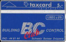 PTT: K-90/8A 003A Landis & Gyr - Building Control Club - Suisse