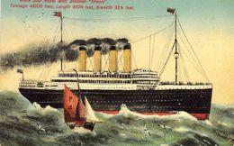 White Star Royal Mail Steamer 'Titanic'  -  CP - Paquebote