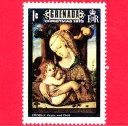 Nuovo - MNH - GRENADA - 1973 - Natale - Christmas - Noel - Madonna Con Bambino  - Dipinto Di Crivelli  - $ 1 - Grenada (...-1974)